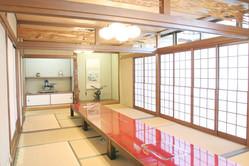小部屋 大小7室 完全個室なので法事・慶事にお使いできます。