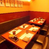 落ち着いた雰囲気の店内 テーブル席は全20席。
