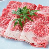 【とろける肉に舌鼓】 霜降り和牛を堪能。牛しゃぶ&すき焼き