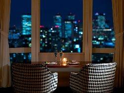 最上階からの夜景をお愉しみください