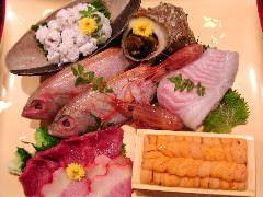 うつぼ鍋コース・ふぐより美味・お刺身・タタキ・から揚げ・鍋に