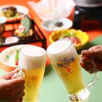 ご宴会は飲み放題付和食宴会プランや季節のお鍋コースをどうぞ。