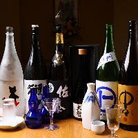 【こだわりの焼酎】 料理に合う日本酒を厳選いたしました