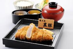 鹿児島県産黒豚ロースとんかつ膳
