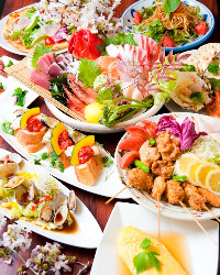 月替りの宴会コースは味わい豊か!飲み放題を付けても4,000円!