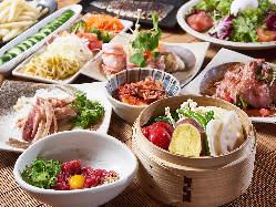 ◆おつまみいろいろ◆ユッケ/鶏のタタキ/野菜ナムル/サラダなど