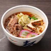 近江牛肉うどん松茸入り ¥1400(+税)