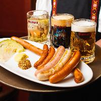 【ソーセージ】 ドイツ伝統の味を再現したビアブルグの自家製
