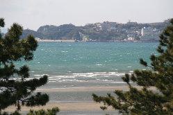 海を眺めながら
