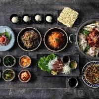 【梅田で韓国料理】各種宴会コース ¥4,000~ご用意しております