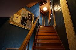 2階は座敷の貸切スペースです。