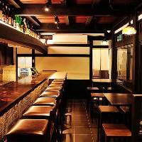 ◆1Fカウンター・テーブル席 お一人様でもお気軽にどうぞ!