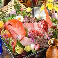 自慢は鮮度抜群の海鮮料理