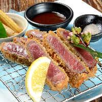 黒毛和牛などを使ったお肉料理も人気です