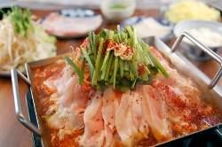 """名物""""鉄板鍋"""" ピリ辛で美味し~"""