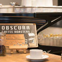 東京OBSCURAから仕入れた豆を使ったコーヒー
