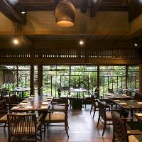 昭和初期の日本家屋がレストランに。モダンな空間でお食事を