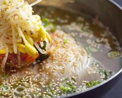 夏場の焼肉と言えばこれっ! 〆の本格冷麺!のどごし最高です