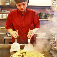 熟練スタッフにおまかせ!最適な焼き加減で美味しく仕上げます