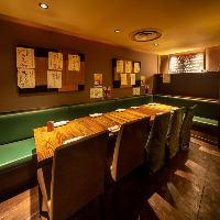 グループでのご利用に最適な半個室、20名様OKの宴会座敷も完備!