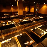 最大100名様掘りごたつ個室 エリア最大級の大宴会場はちまる!