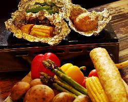 厳選野菜のホイル焼き各種