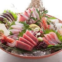 産地直送&旬の海鮮和食料理をたっぷりとお召し上がりください♪