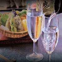 こだわりの日本酒をはじめ、種類豊富なドリンクメニューをご用意