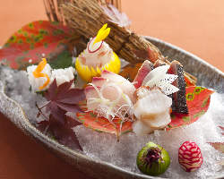 日本料理で腕を磨いた店主が創り出す味と盛り付け
