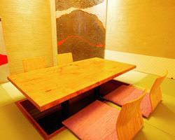 彩の間【4名様~8名様】 大小個室ございます。