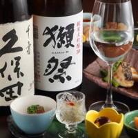 日本酒そろってます!高槻地酒や獺祭など各種ご用意!