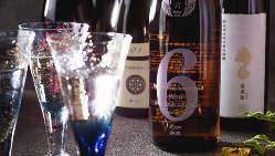 革新的な造りをする酒蔵の日本酒がずらり。宴会でも楽しめます
