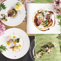 新鮮食材にこだわった和洋折衷フルコースは顔合わせや会食に♪