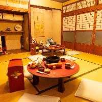 ●本格お座敷和室。 2名様~80名様までお座敷をご用意。