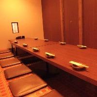 <2名様〜最大60名様まで完全個室>完全個室をご案内致します。