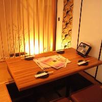 他の個室から距離をとり、さらにプライベート感が増したVIP個室