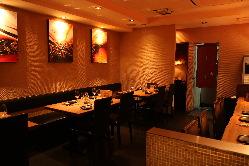 食のアトリエをイメージした空間をお楽しみ頂ければと思います。