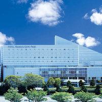「ホテル阪急エキスポパーク」は万博外周道路沿い。