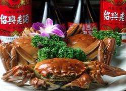 上海蟹は10月から1月まで