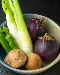 食材も目で見て仕入れる新鮮素材。京ならではのお料理も♪