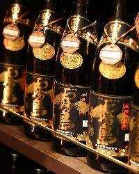 土筆んぼう限定! 焼酎一升瓶のボトルキープが1,900円(税抜)!