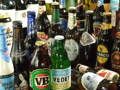 ここでしか飲めないビール 専用のグラスで飲めば美味さがUP↑