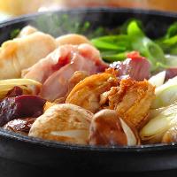 一年中人気! 選べる3種類の鍋コースをご用意