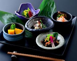 【京の逸品】出来立て京豆腐・賀茂茄子・生麩等京の味覚◎