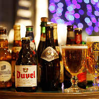 《豊富なドリンクも》 神戸・六甲の地ビールも置いています