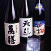 本格焼酎は芋を中心に約70種類。 ビール、カクテルもあり