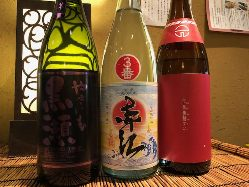 春の芋焼酎、日本酒が入荷中!