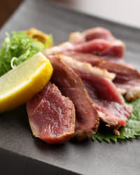 人気の「鴨のたたき」など京都で気軽に鴨料理なら当店へ!!