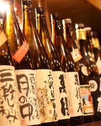 日本酒・焼酎の品揃えに自信!!話題のお酒から隠れた銘酒も!!