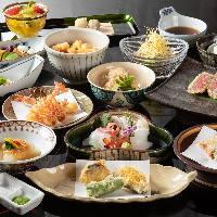 集い天ぷら(テーブル宴席):16~50名様